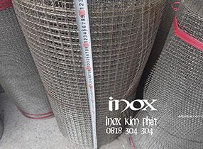 lưới gân đan inox 304 bán lẻ